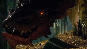 Bilbo and Smaug