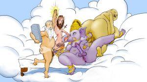 religious satire