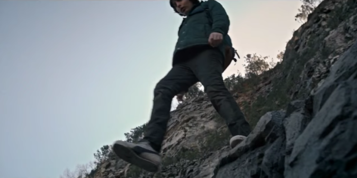 Image result for stranger things mike jumps